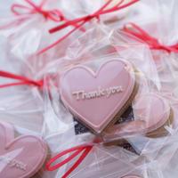 Heart icing cookie『Thank you』 ※3月11日(水)商品到着予約商品