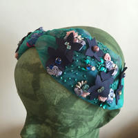 Namrata Joshipura Head Band ヘアアクセサリー blue flowers