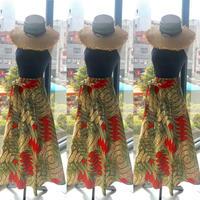Bouncy Skirt  バウンシースカート ラップスカート  Orange