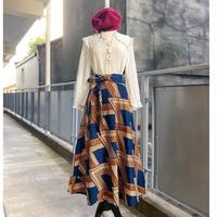 Bouncy Skirt  バウンシースカート  ラップスカートBrpointed