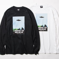 BxH I WANT TO BELIEVE L/S Tee