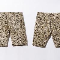 40%OFF BxH Leopard half Pants