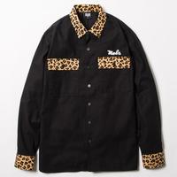 BxH Leopard Flannel Shirts