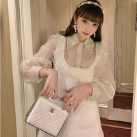 Cutting lace collar dolly dress(No.301885)