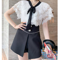Fairy cape blouse setup(No.301467)