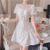 Ballerina corset like a-line dress(No.302315)
