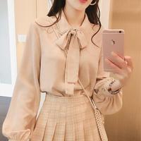 (一部即納)spring color chiffon blouse(No.300595)