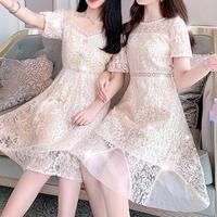 Similar cream lace dress(No.300709)