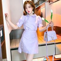 Creamy purple wang-hong setup(No.302211)