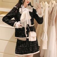 Classic sailor tweed setup(No.300776)【white , black】
