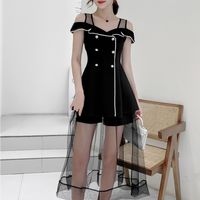 Long lacy lady black setup(No.301263)