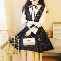 lace blouse set-up OP (No.300341)