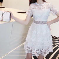Flora lace lady dress(No.300677)