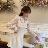 Bijou collar petite frill dress(No.301545)