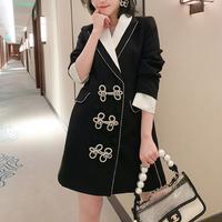 Wang-hong bijou ribbon dress coat(No.302014)