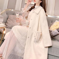 Melt color long coat(No.300875)【2color】