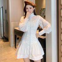 Dolly look corset shirt dress(No.301678)