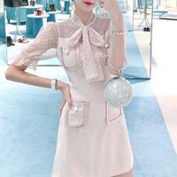 一部即納♡classical tulle blouse OP(No.300409)