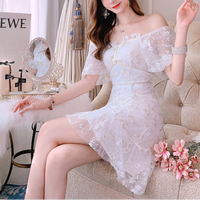 Double ribbon vintage lacy dress(No.391485)