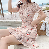 cherry dot frill OP(No.300614)