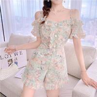 Sweet in fleur lace suit(No.302300)