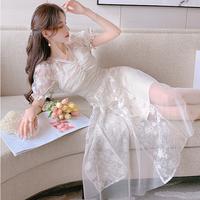 Wedding like milky lace dress(No.302249)