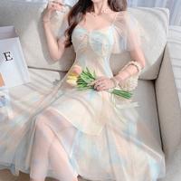 Aurora muse like lacy long dress(No.302267)