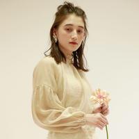 printemps chiffon blouse