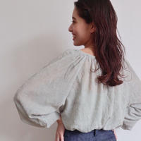 mousseline blouse