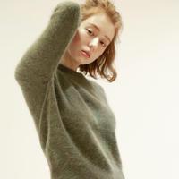 fluff angora knit