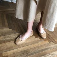 jute ballet shoes