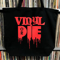 VINYL OR DIE RECORD BAG