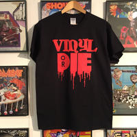 VINYL OR DIE T-SHIRT