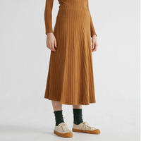 THINKING MU / Caramel Trash Satis Skirt