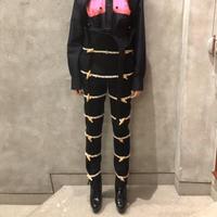 KEISUKEYOSHIDA / Duffle Pants / BLACK