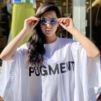 PUGMENT / LOGO BIG T-SHIRT