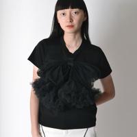 noir kei ninomiya / ribbon tops