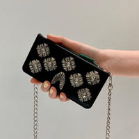 TOGA PULLA / Mobile  Cover With chain / BLACK