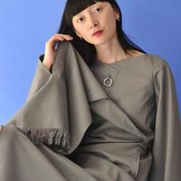 YOHEI OHNO / Poncho Dress / GREEN