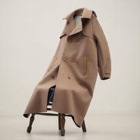 MEGMIURA / Trench Coat / Camel