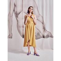 YOHEI OHNO / Mantle Dress / Yellow