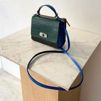 TOGA PULLA / Leather shoulder bag / MIX