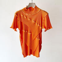 to do kotohayokozawa /  Short-sleeve high neck / ORANGE