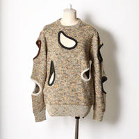 TOGA / Tweed knit pullover
