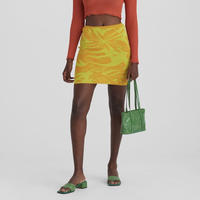 paloma wool / AERI / Knitted Mini Skirt / Yellow