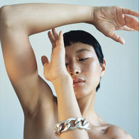 Saskia Diez / BOLD GRAND BRACELET / SILVER