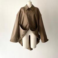 KEISUKEYOSHIDA / Suspender Coat / BEIGE