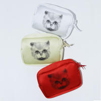 TOGA x TOMOO GOKITA / Cat print pouch