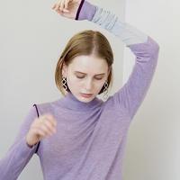 soduk / One Long Knit Top / Purple