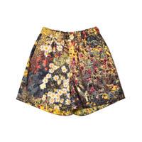 WATARU TOMINAGA / Elastic Waist Shorts / Garden Print